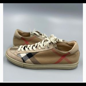 Burberry Hartsfield House Check sneakers
